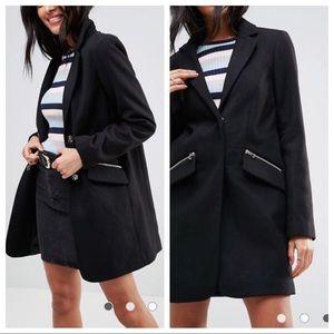 Slim Boyfriend coat